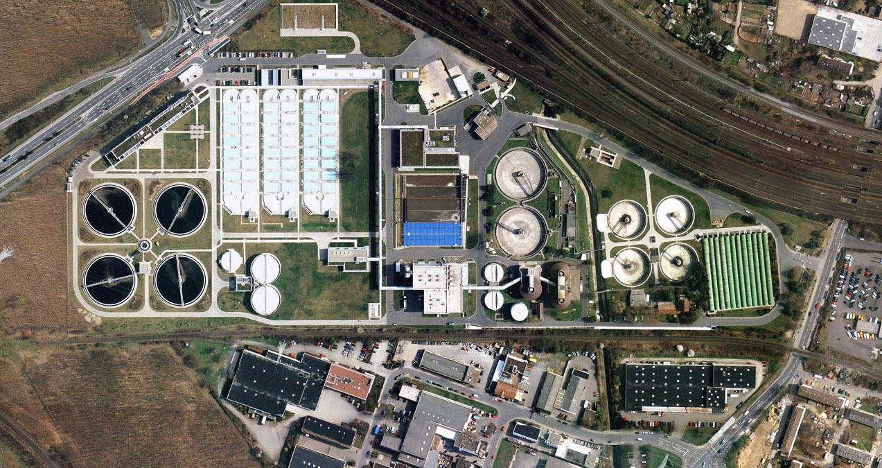 Zentralklärwerk-Darmstadt-Luftbild